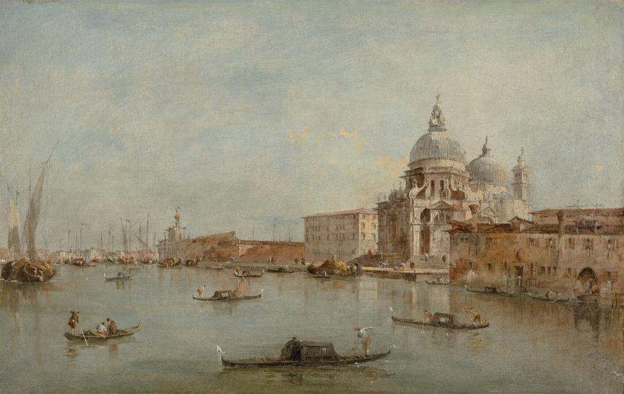 The Entrance of the Canal Grande with the Santa Maria della Salute