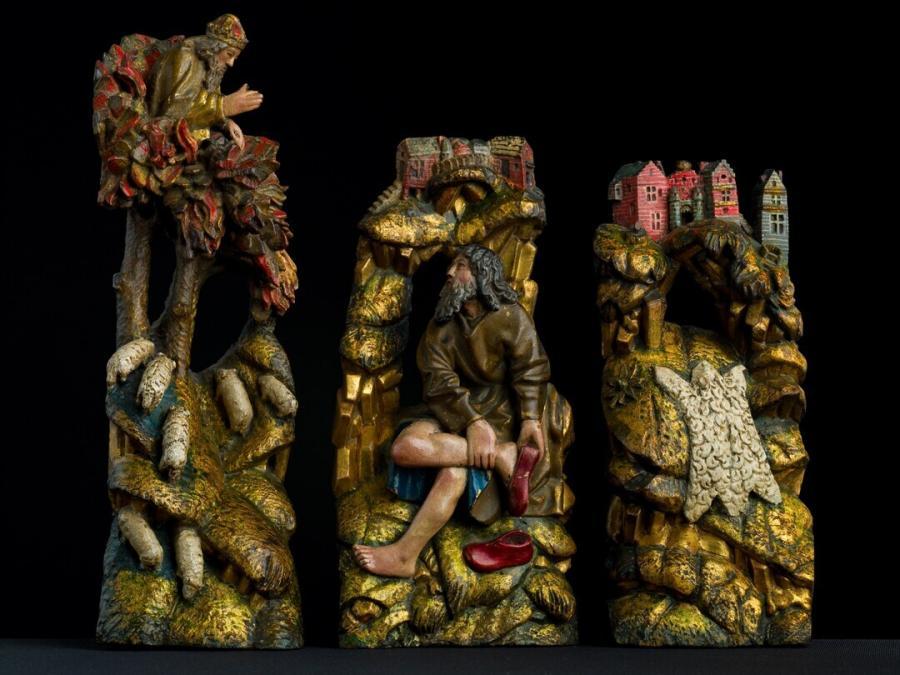 Het brandende braambos, Mozes en het Gideonsvlies