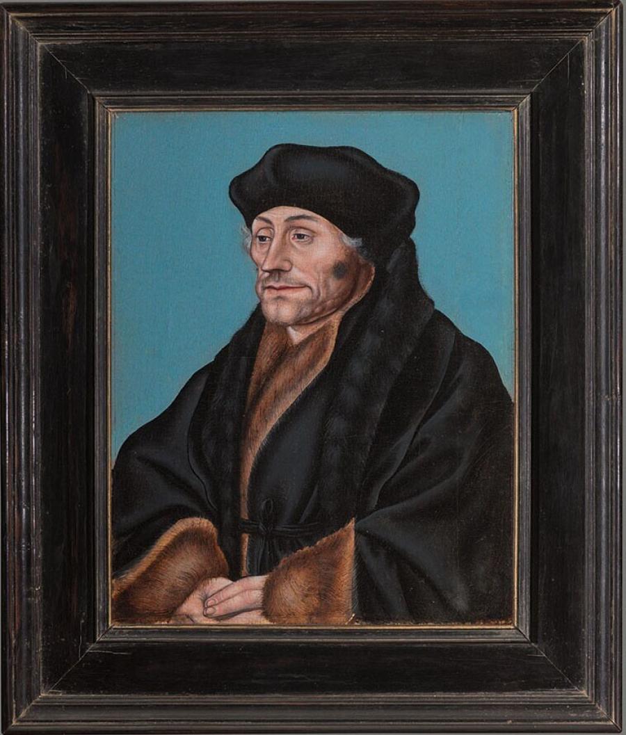 Portret van Desiderius Erasmus