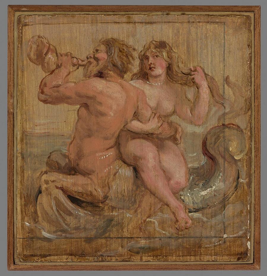 Nereid and Triton