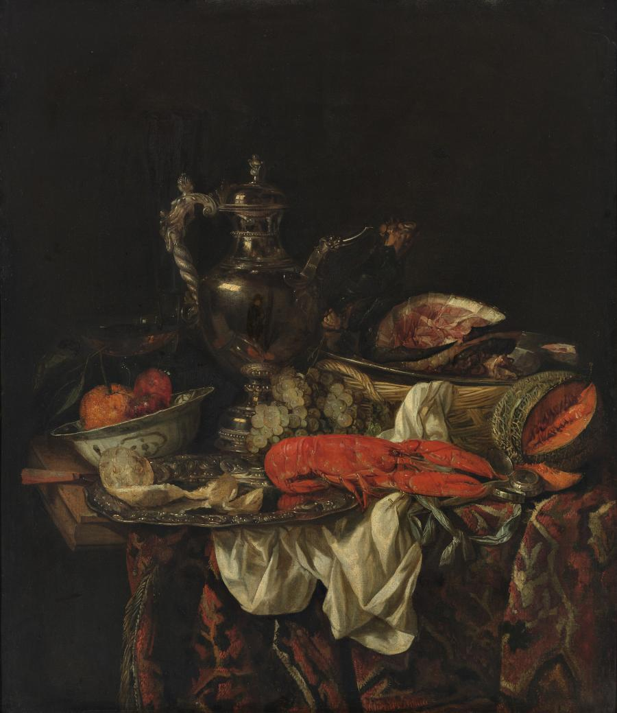 Still Life with a Silver Pitcher