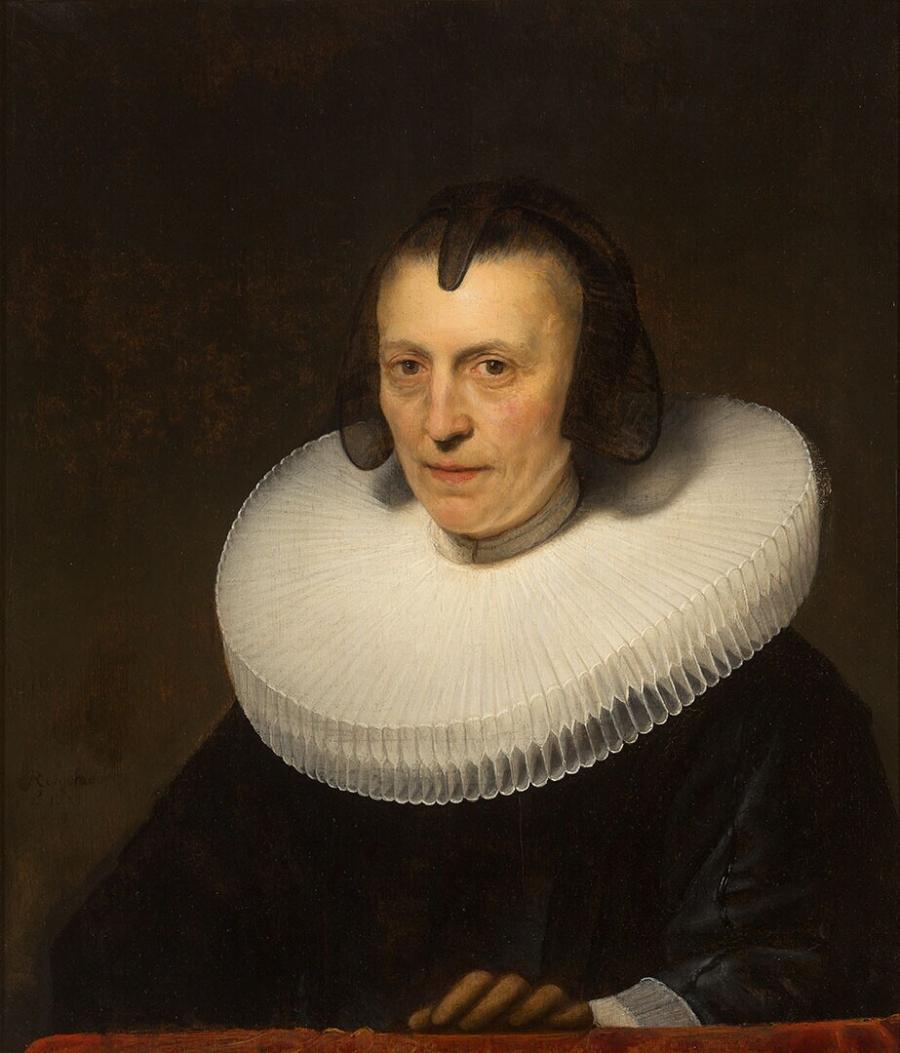 Portret van Aletta Adriaensdochter
