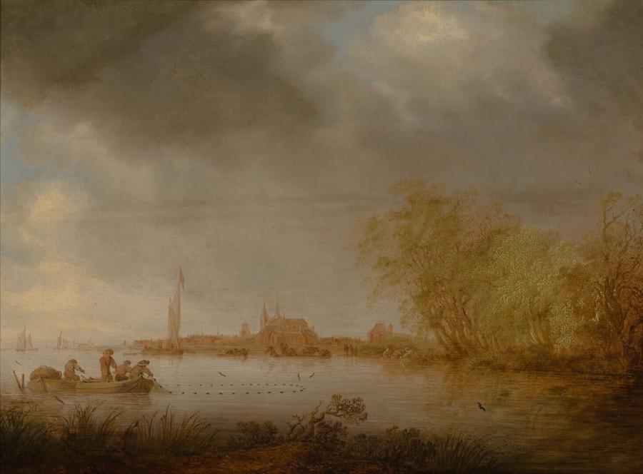 Riviergezicht bij Deventer