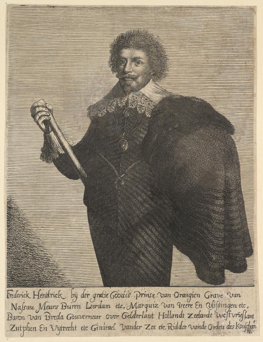 Portret Van Prins Frederik Hendrik Van Oranje Museum