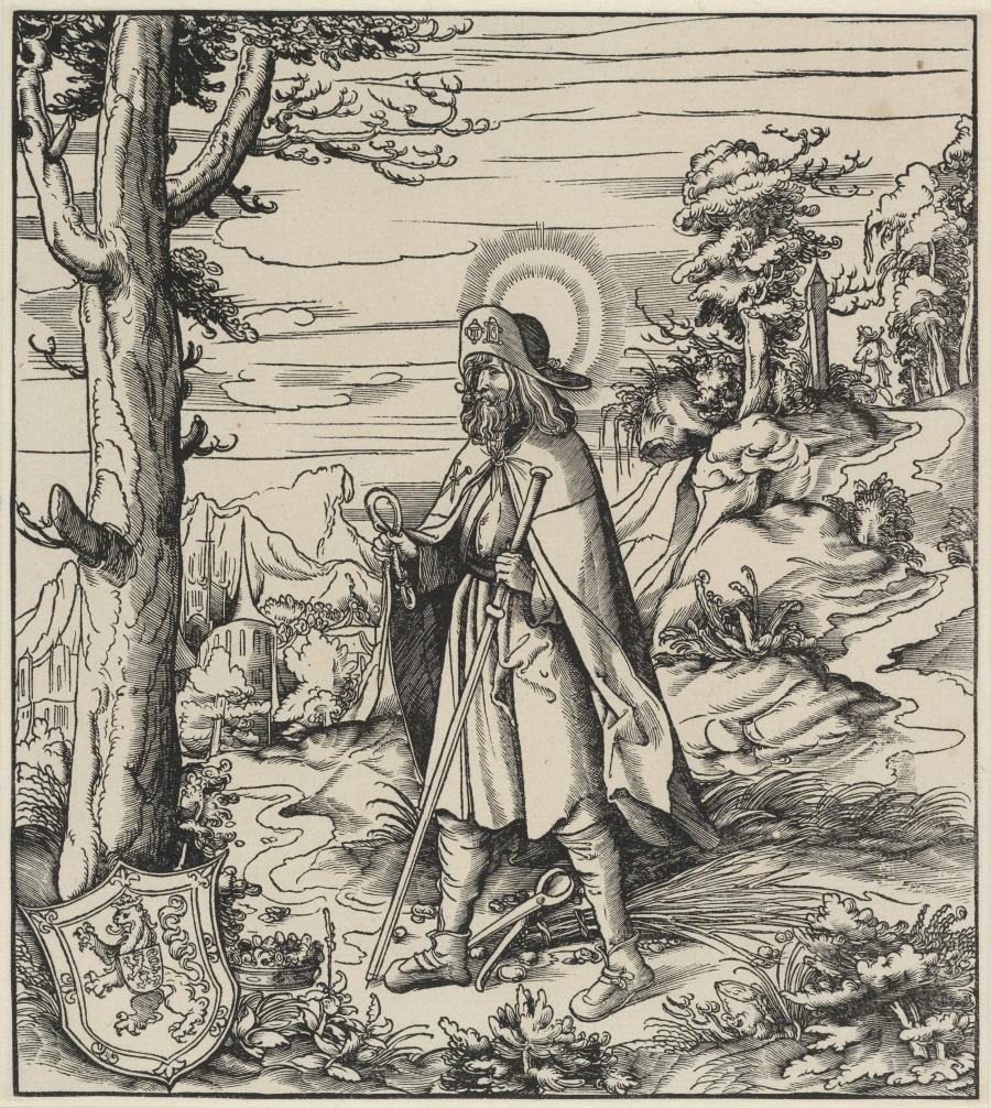 De heilige Colomannus