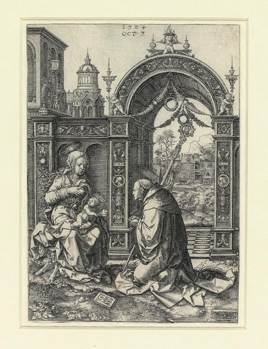 The Vision Of St Bernard Of Clairvaux Museum Boijmans Van