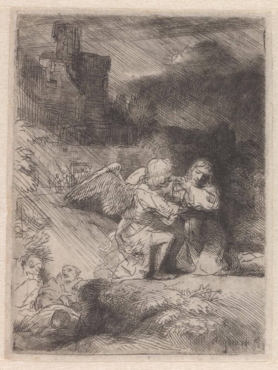 Christus' gebed in Gethsemane