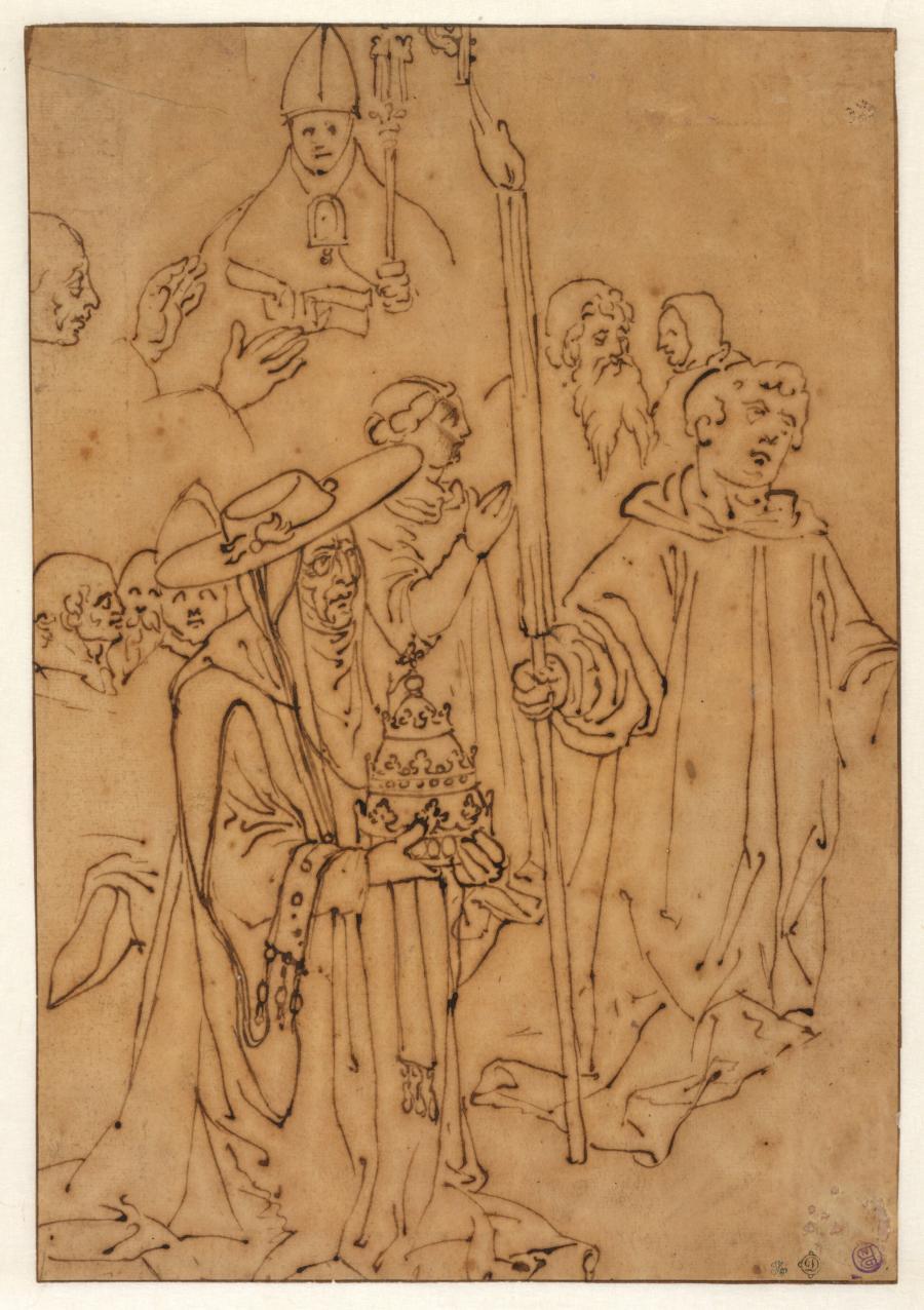 Figuren uit de Mis van de Heilige Gregorius