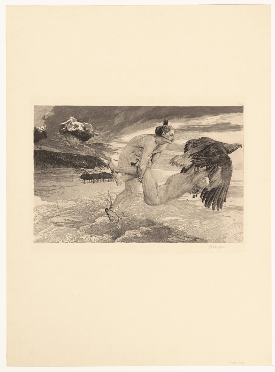 Entführung des Prometheus (Brahmsphantasie, Opus XII, Bl. 24) (Ontvoering van Prometheus)
