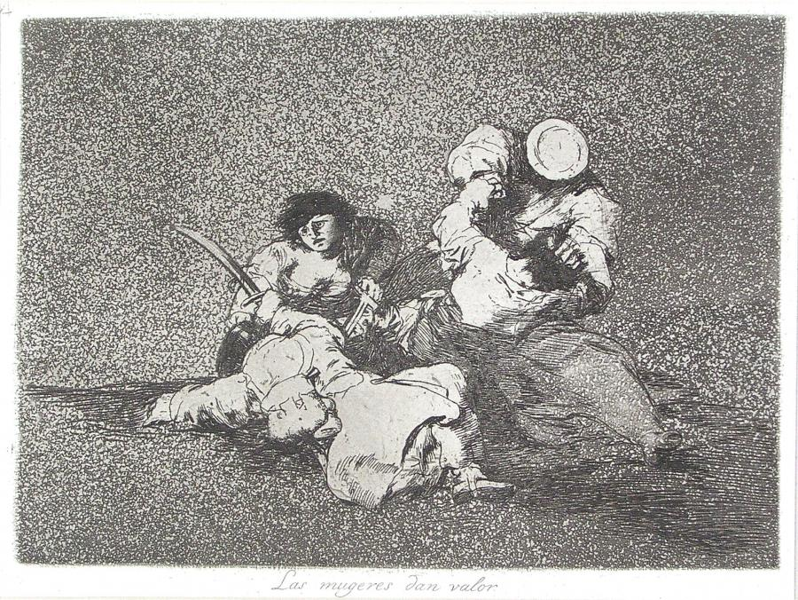 Las mugeres dan valor (De vrouwen tonen hun moed)