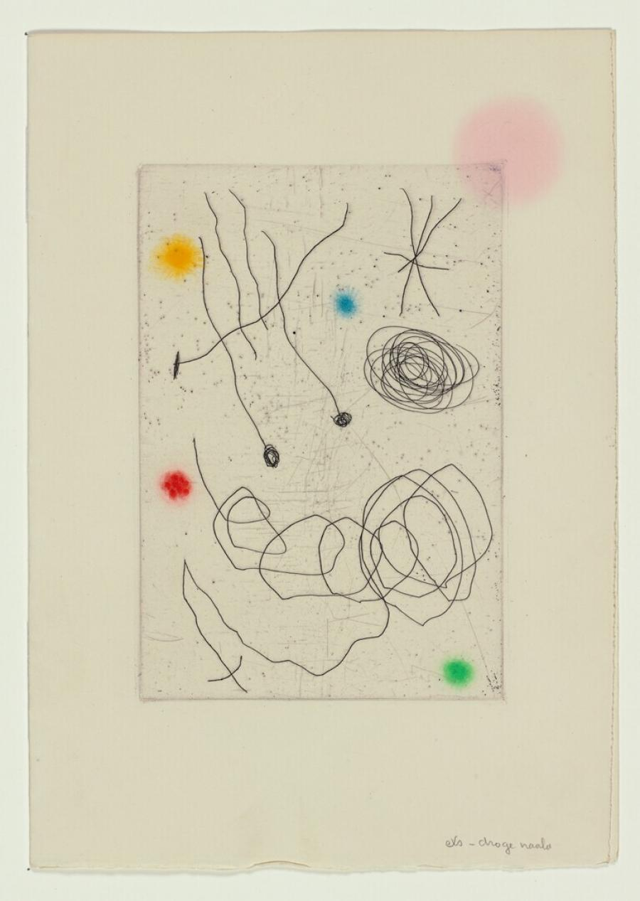 New Years Greetings  Aimé Maeght for 1964