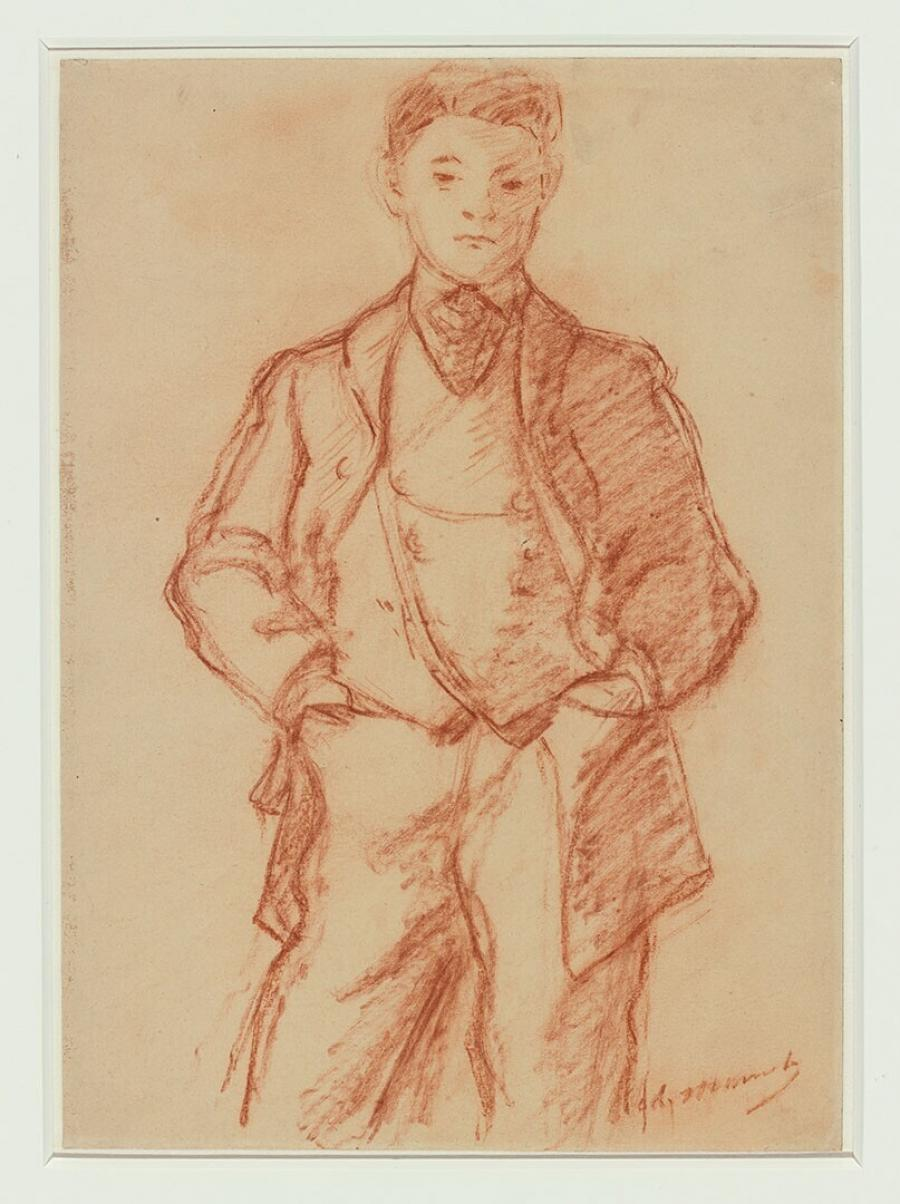 Portret van Léon Koëlla-Leenhoff