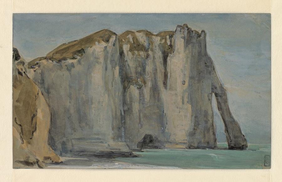 Krijtrotsen nabij Etretat