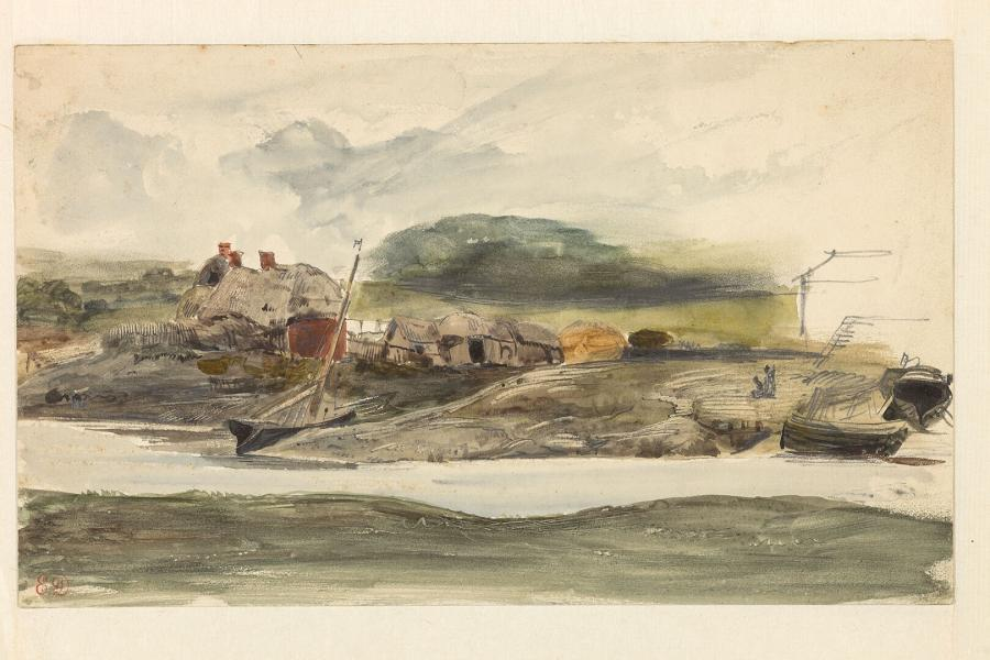 Landscape with Fishermen's Houses