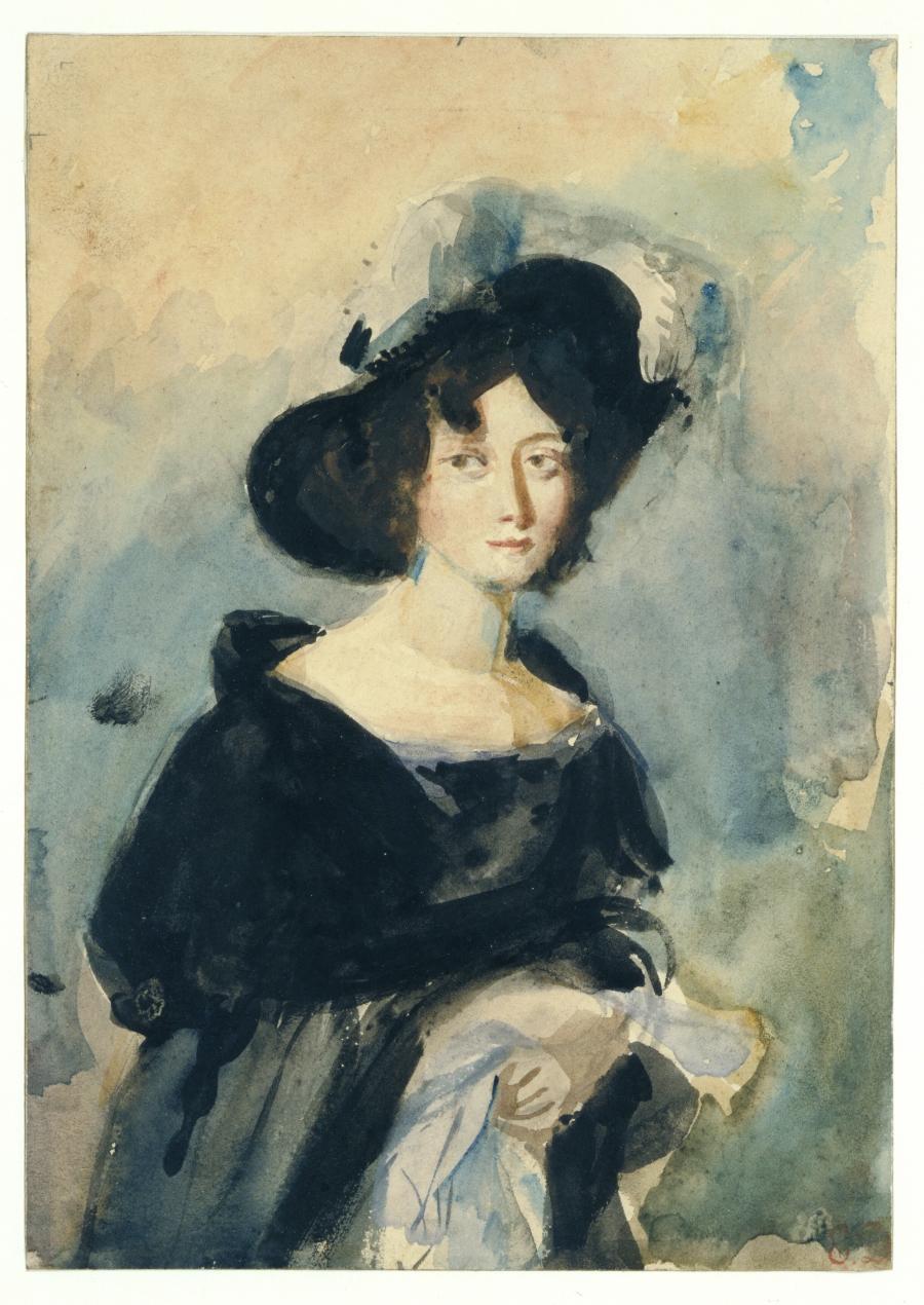 Portrait of a Young Lady (Madame de Conflans)