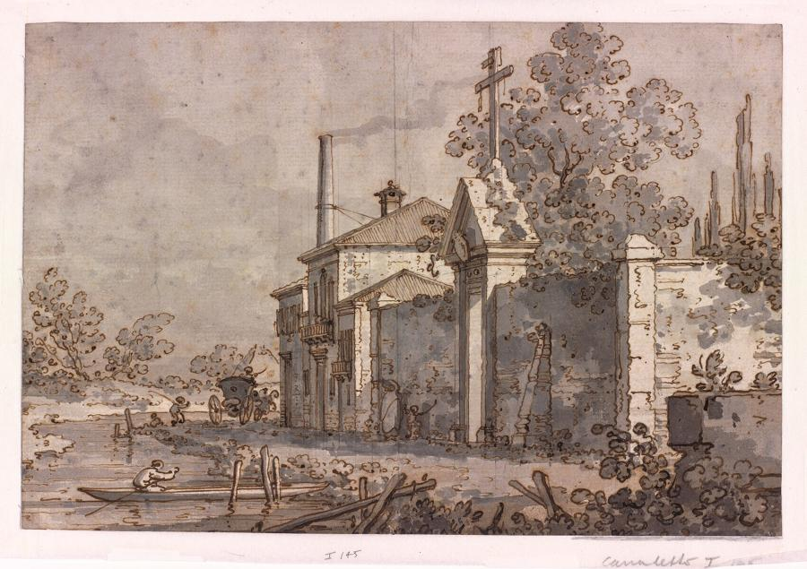 View of a Venetian villa