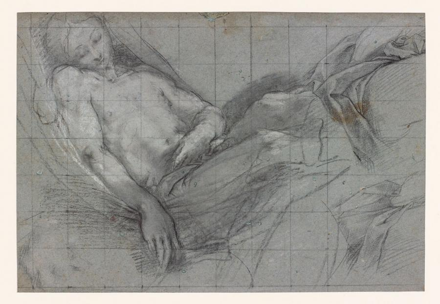Study for the Dead Christ in the Altarpiece 'The Entombment'