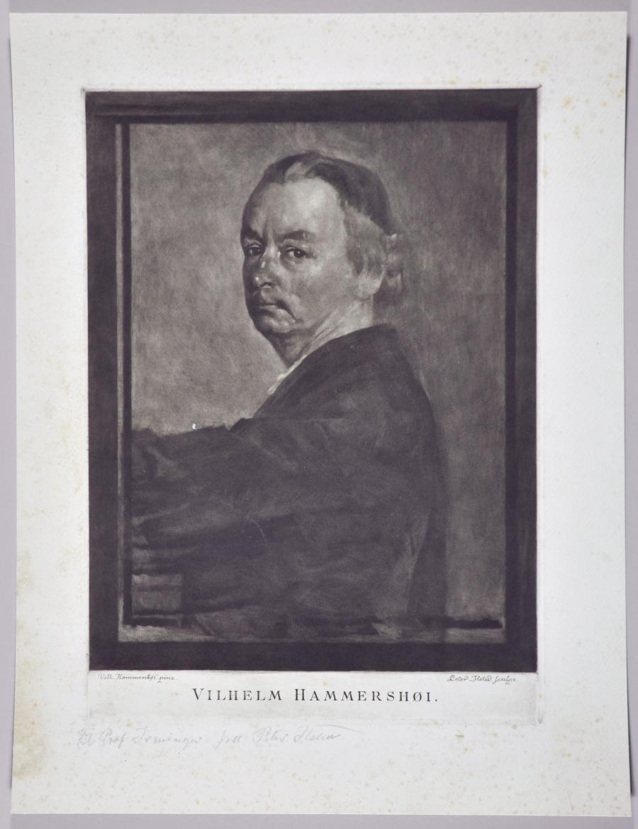 Portrait of Vilhelm Hammershøi