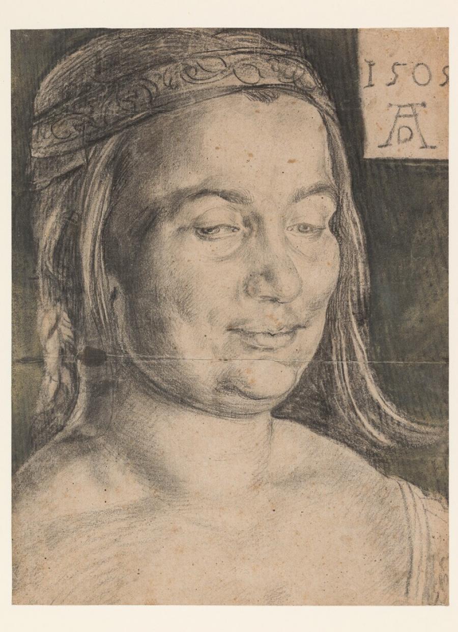 Hoofd van een jonge vrouw (Windische Frau)