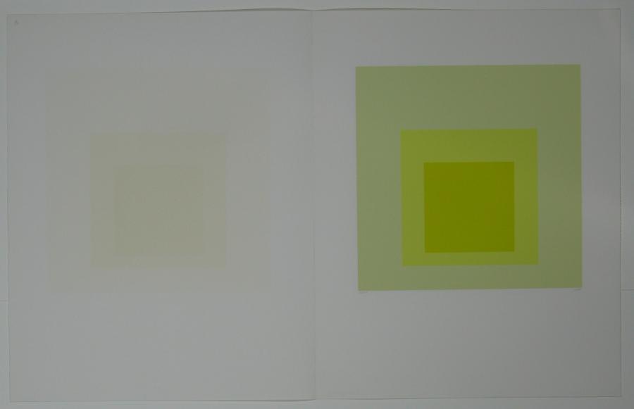 Hommage au carré (Hommage aan het vierkant)