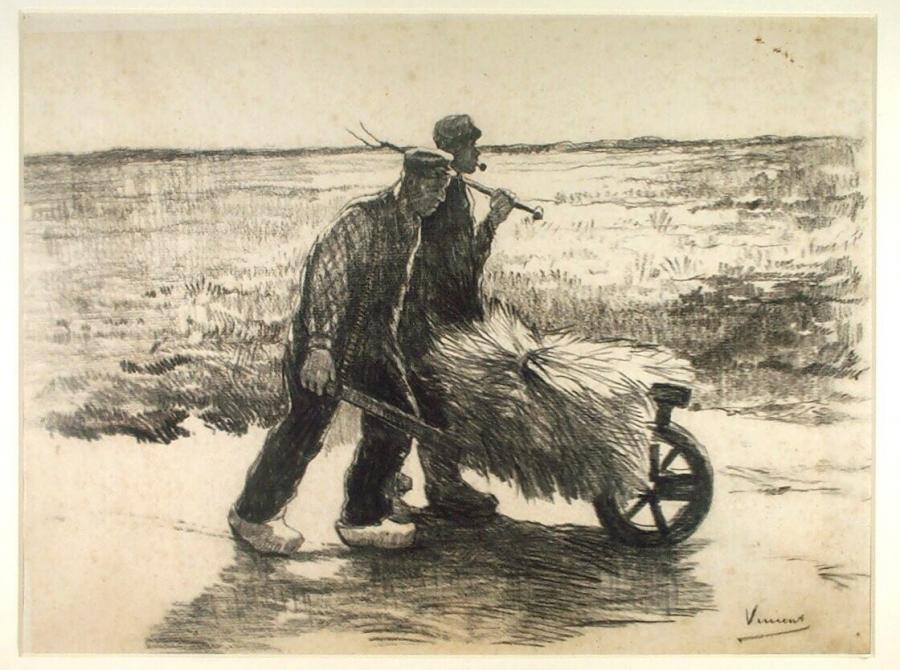Two Farmers and a Wheelbarrow
