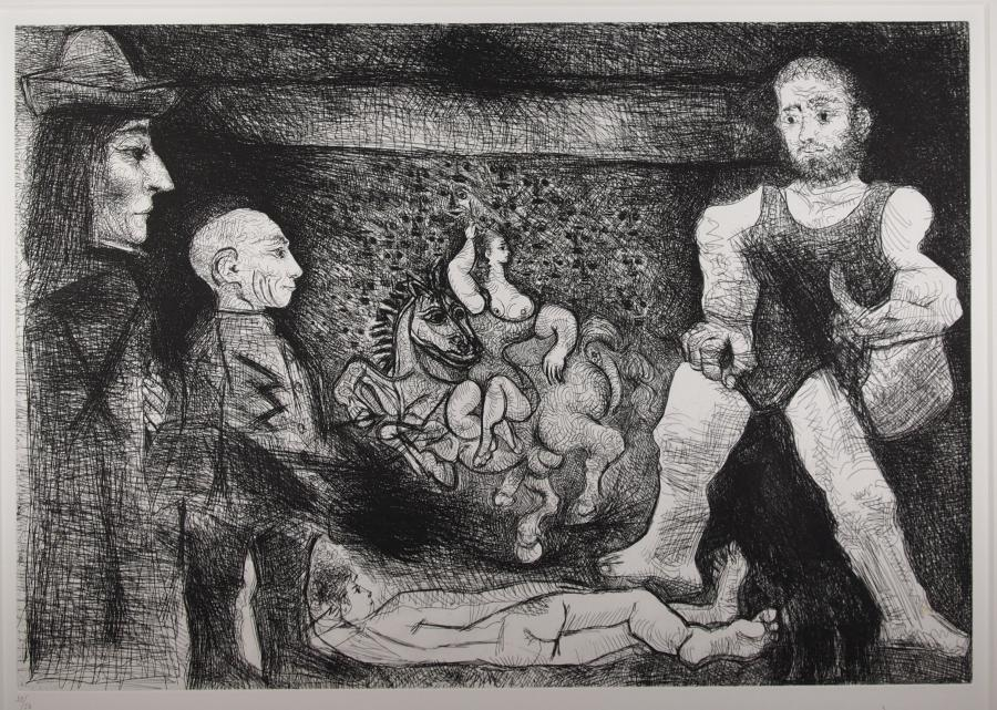 Picasso, zijn werk en zijn publiek