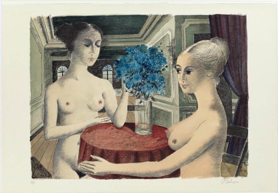 Twee vrouwen in interieur