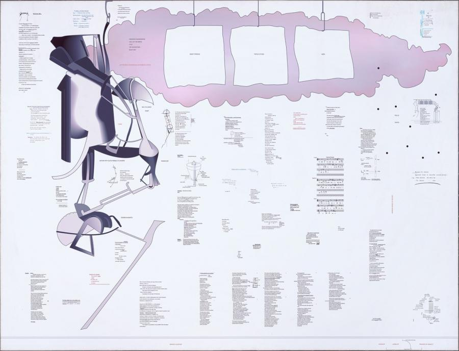 Typo/Topography of Marcel Duchamp's Large Glass