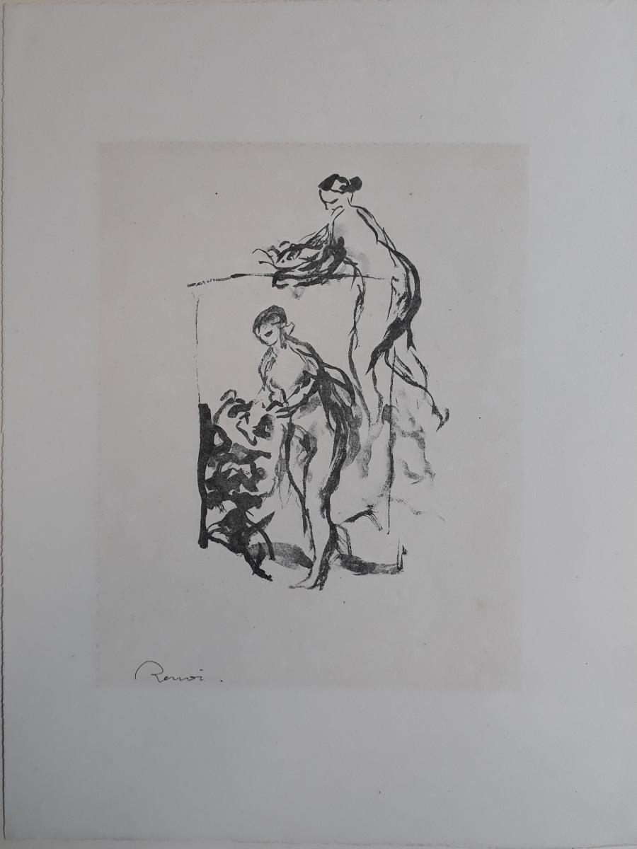 Femme au cep de vigne, 3e variante