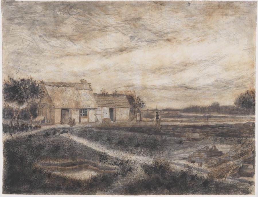Landscape with a Farmyard near Etten