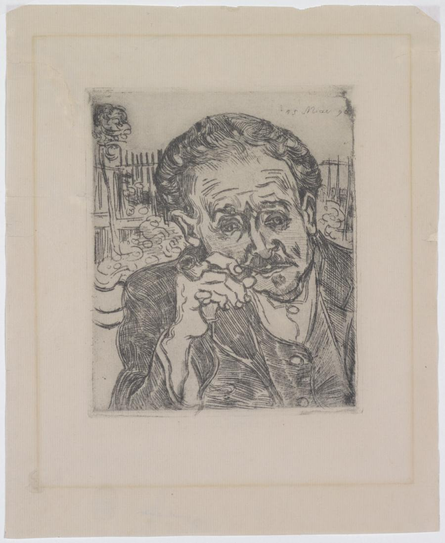 Portrait of Dr Gachet