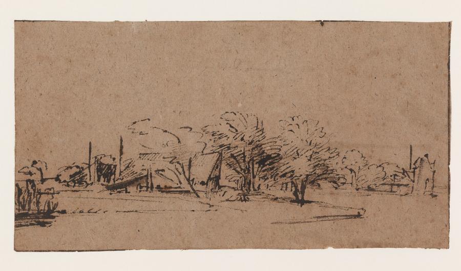 Farmhouse on a River