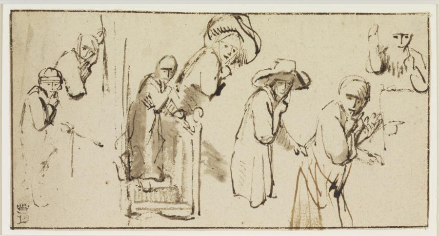 Studies of Eavesdropping Figures