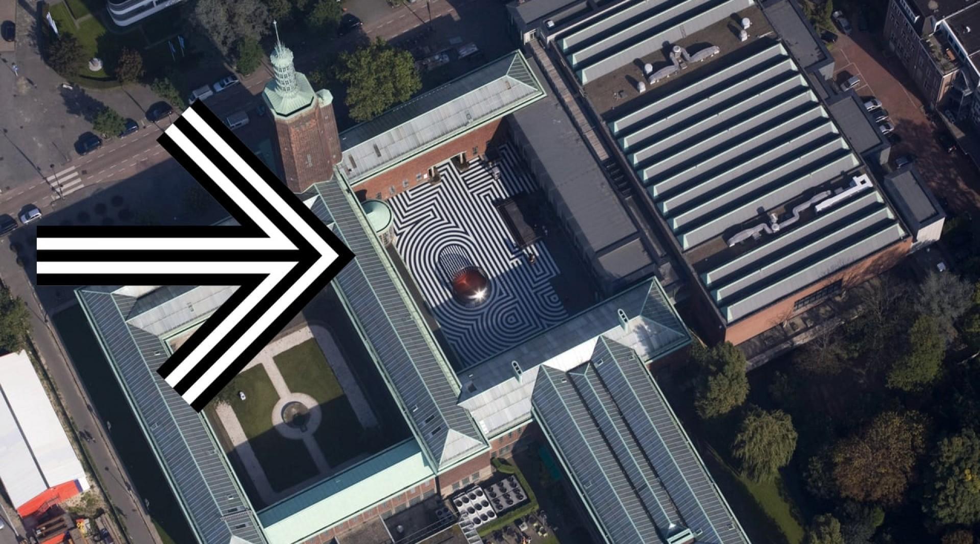 Architectuurplaquette - Museum Boijmans van Beuningen